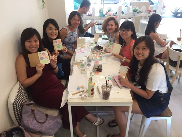 stamp carving workshop singapore