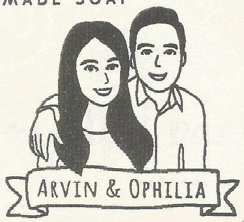 parademade custom stamp caricature