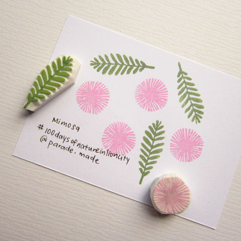 mimosa stamp parademade singapore