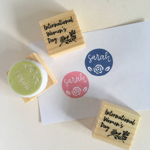 international womens day takashimaya personalised stamp parademade
