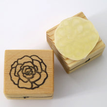 Wooden Craft Stamp - Camellia