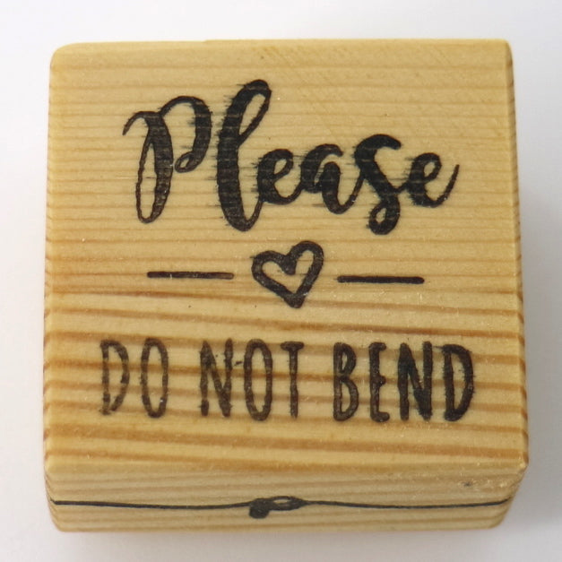 Business Stamp - Do Not Bend