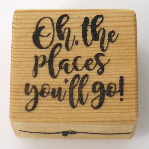 Business Stamp - Oh, the Places You'll Go!