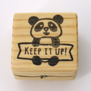 Teacher Stamp - Keep it Up Panda