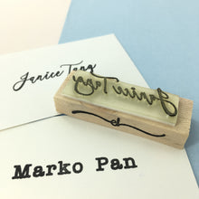 Personalised Custom Name Stamp (plain)