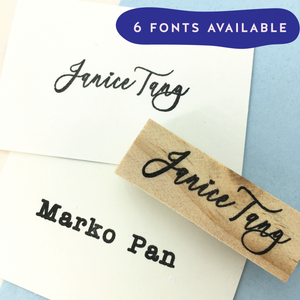 Custom Name Stamp (plain)