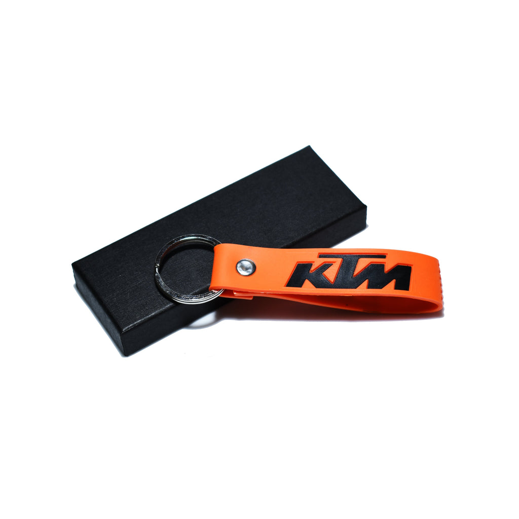 KTM Orange Premium Soft Keychain