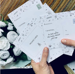 promise & wish card gift ideas for a mum to be