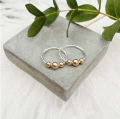 mum to be siver hoop earing gifts