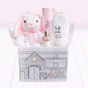Bubbles And Snuggles Hamper, Pink