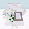 Christening Memories Keepsake Box with Little Blue Bunny