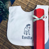 Baby's 'Personalised Reindeer' Cracker Bib