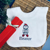 Baby's Personalised Elf Bib Christmas Cracker