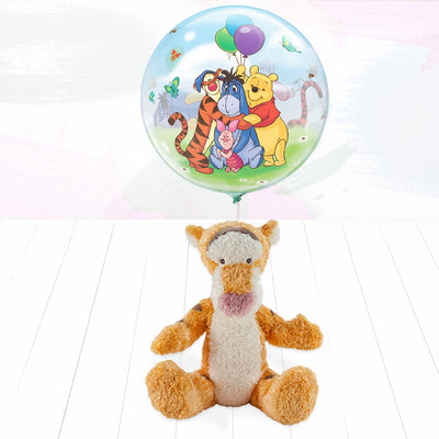 Tigger Soft Toy and Balloon