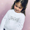 I Leave a Little Sparkle… Children's Christmas T-Shirt - Personalised