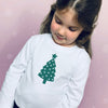 Christmas Tree Sparkle T-Shirt - Personalised