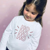 Ho Ho Ho Children's Christmas T-Shirt - Personalised