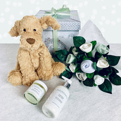 Fuddlewuddle Welcome Baby Hamper