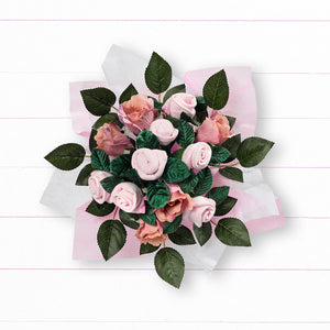 Hand Tied Posy - Pink