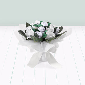 Hand Tied Posy - White
