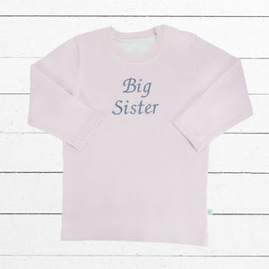 Big Sister T-shirt - Long Sleeved