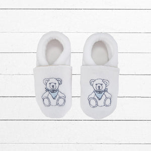 Baby Boy Slippers, Teddy