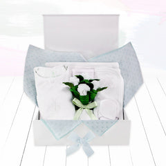 Personalised Baby Keepsake Box - Blue