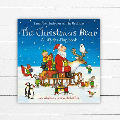 The Christmas Bear Board Book