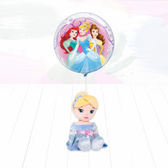 Disney Princess Soft Toy and Balloon – Cinderella