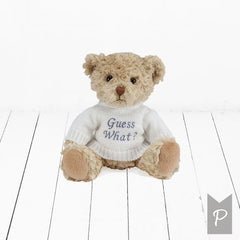 Personalised Announcement Bear