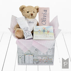 Girl's First Birthday Gift Hamper