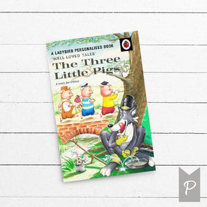 The Three Little Pigs, Personalised