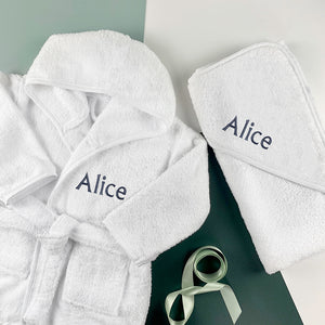 Personalised Cosy Cuddles Gift Set, Grey