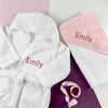 Personalised Cosy Cuddles Gift Set Pink