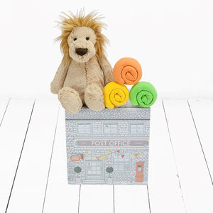 Bashful Lion and T-Shirt Trio Gift Set