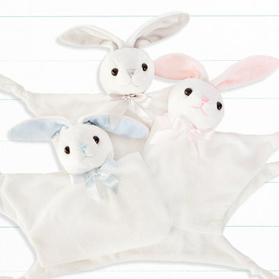 Personalised Little Pink Bunny Comforter