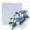 Luxury Bouquet and Baby Blanket, Blue