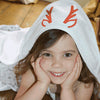 Christmas Reindeer Hooded Towel