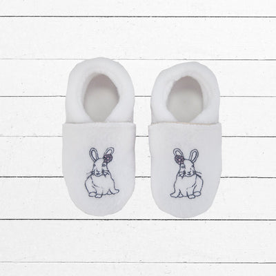 Baby Girl Slippers, Bunny