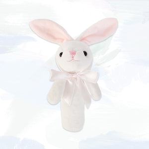 Little Pink Bunny Squeaky Toy