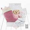 Bertie Bear's Christmas Eve Hamper, Pink