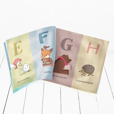 Alphabet Rag Book