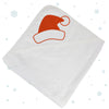 Christmas Santa Hat Hooded Towel