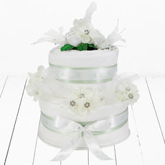 Luxury Sparkle Nappy Cake