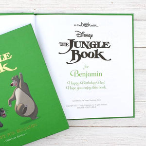 Personalised The Jungle Book Story