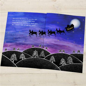 Personalised 'Twas The Night Before Christmas' Book