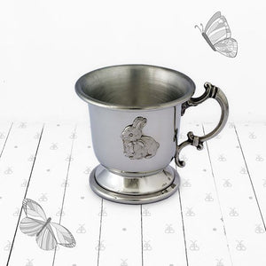 Childs Pewter Breakfast Set, Bunny