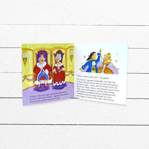 Cinderella Flip-Up Book