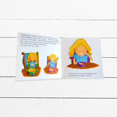 Goldilocks and The Three Bears Flip-Up Book