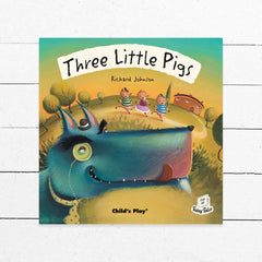 Three Little Pigs Flip-Up Book